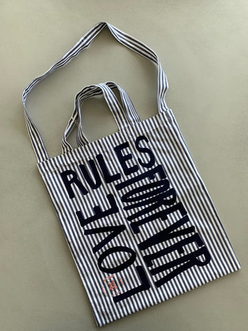 Love Rules Forever Shopping Bag
