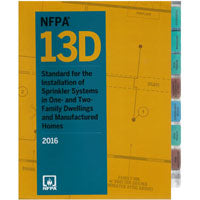NFPA 13D Standard for the Installation of Sprinkler Systems in One- and Two-Family Dwellings and Manufactured Homes