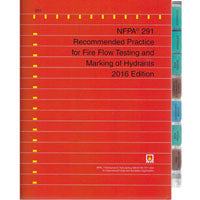 NFPA 291 Recommended Practice for Fire Flow Testing and Marking of Hydrants