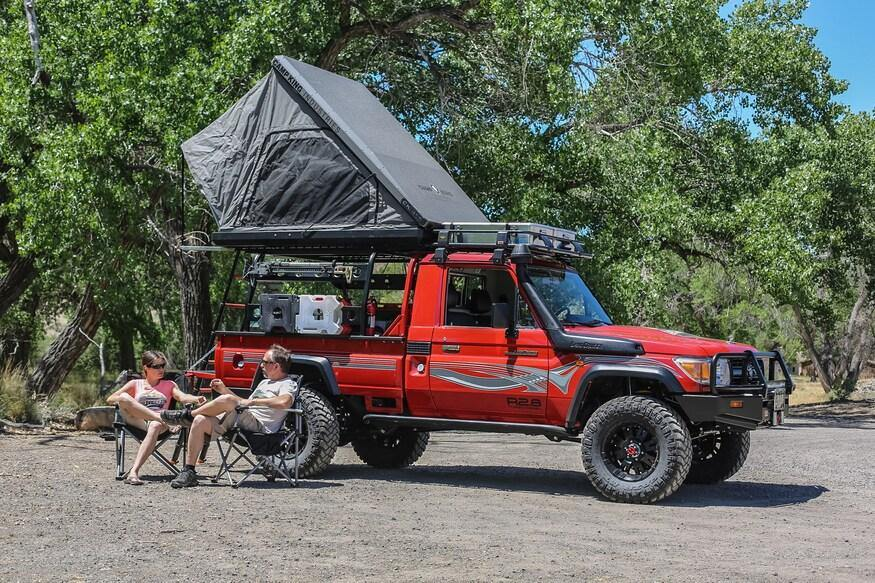 Camp King Industries Roof Top Tent - Sloop Imports