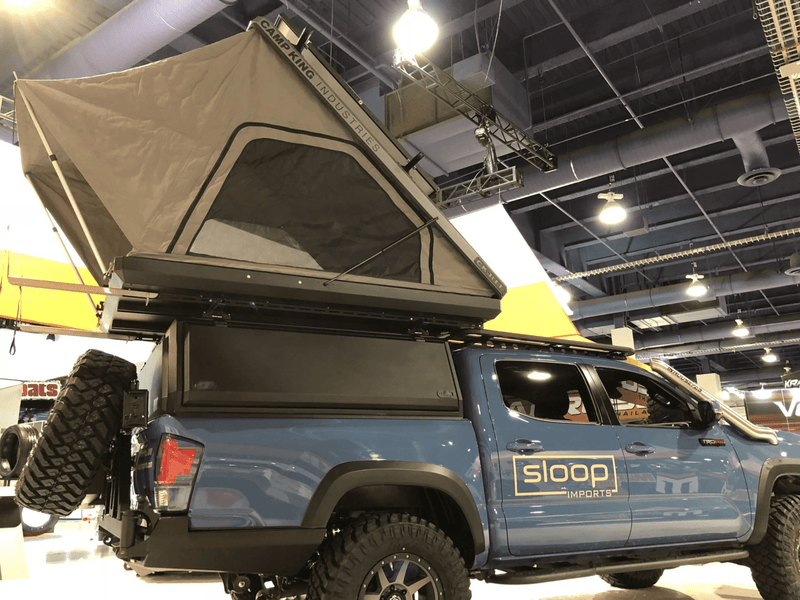 Camp King Industries Topper (5ft Tacoma) - Sloop Imports