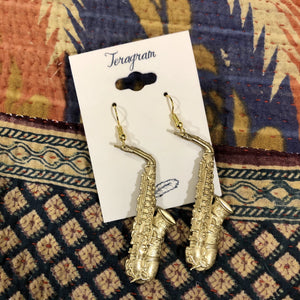 Brass Instrument Earrings