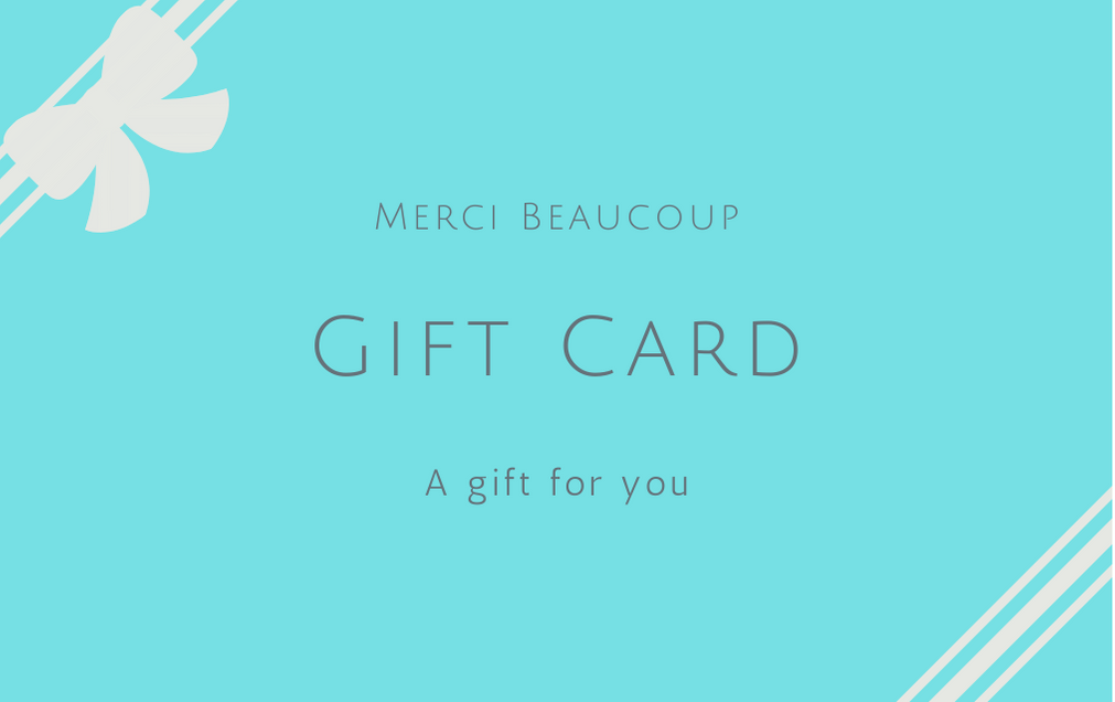 MerciBeaucoup Gift Card