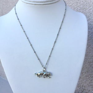 Geaux Tigers Charm Necklace