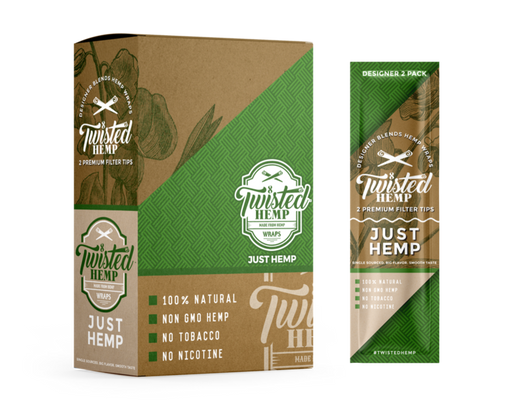 Twisted Hemp Designer Blends Premium Hemp Wraps Just Hemp