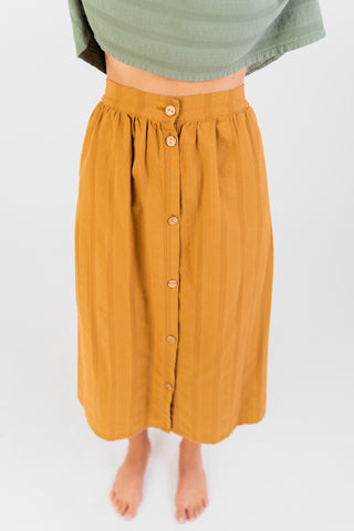 Safira Skirt in Yellow Mustard