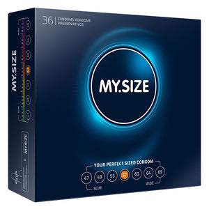 My Size Natural Latex Condoms 36 Pieces