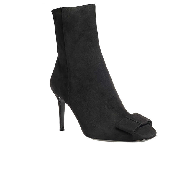 Baglioni Black Suede - Lucy Choi London