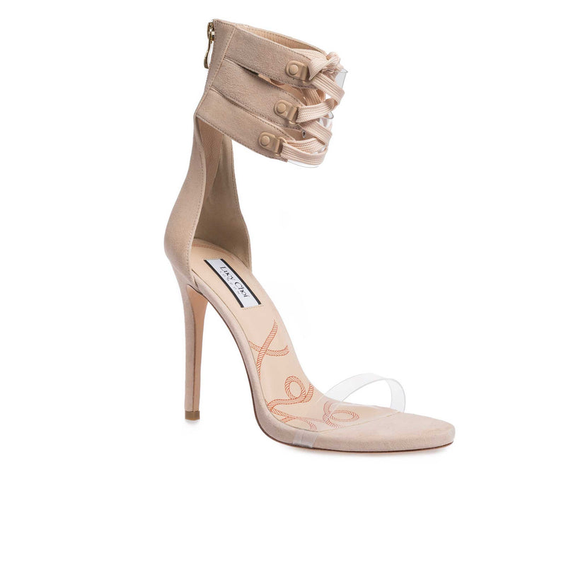 Cher Nude Suede - Lucy Choi London