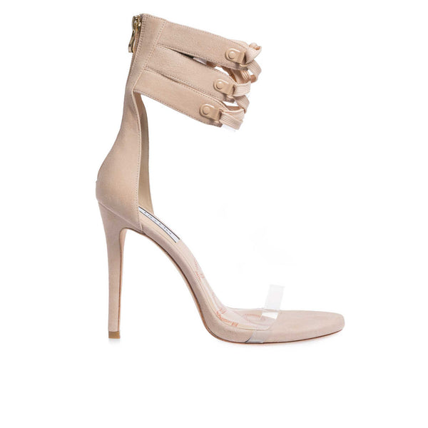 Cher Nude Suede
