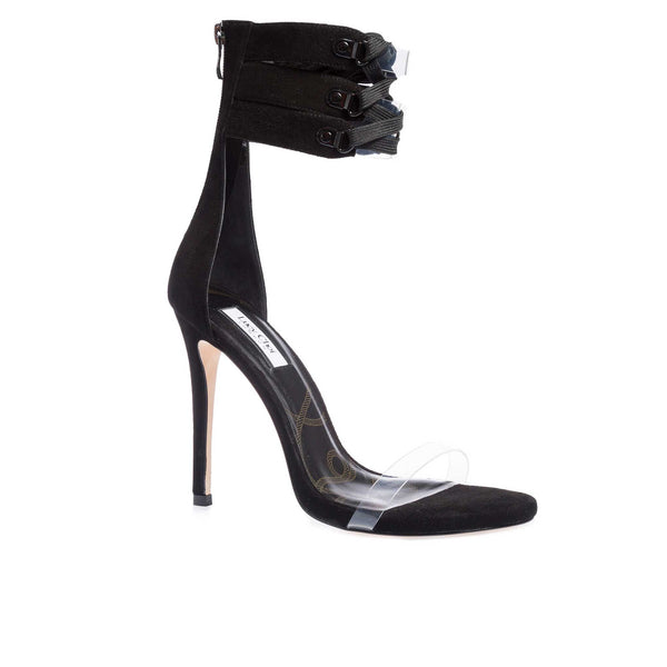 Cher Black Suede - Lucy Choi London