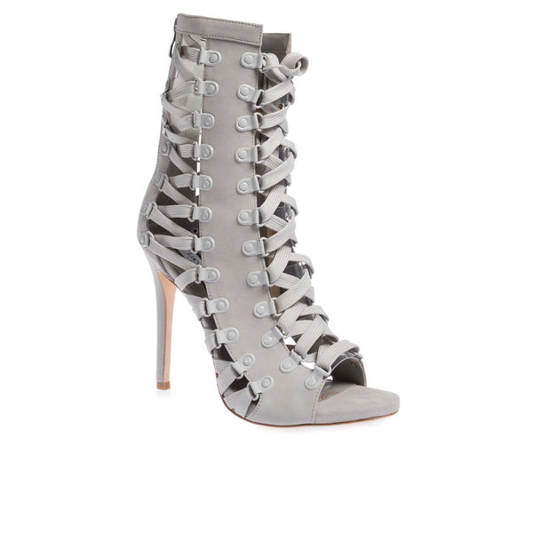 Madonna Grey Suede - Lucy Choi London