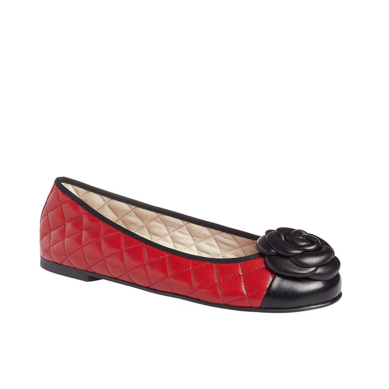 Marilyn Red Leather - Lucy Choi London