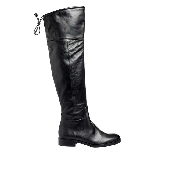 Pelham Black Leather
