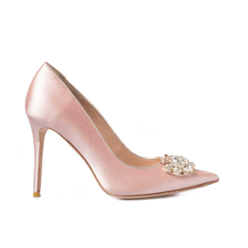 Rosewood Pink Satin - Lucy Choi London