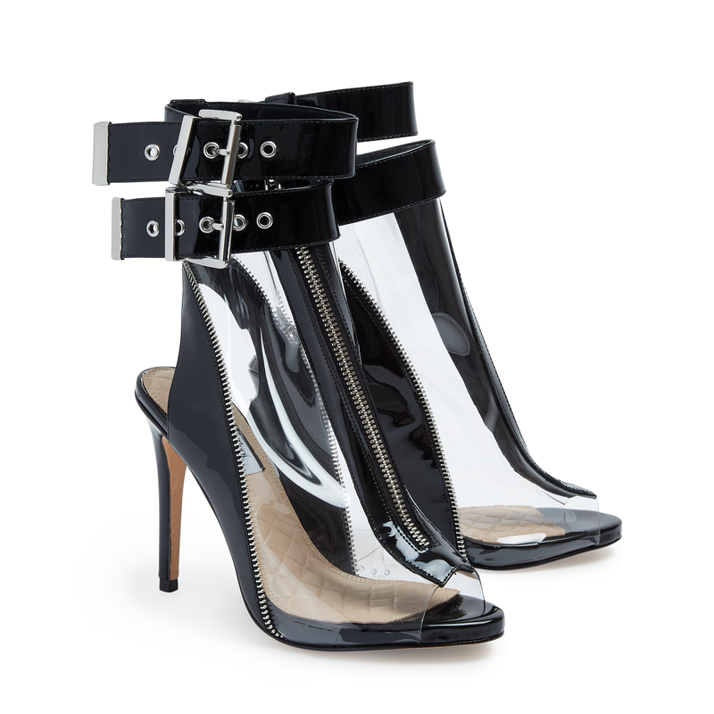Wisteria Black Patent - Lucy Choi London