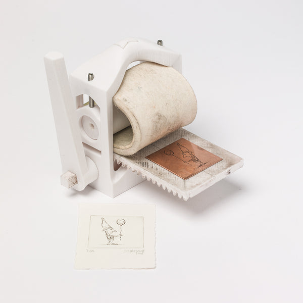 How to 3D-print your own printing press