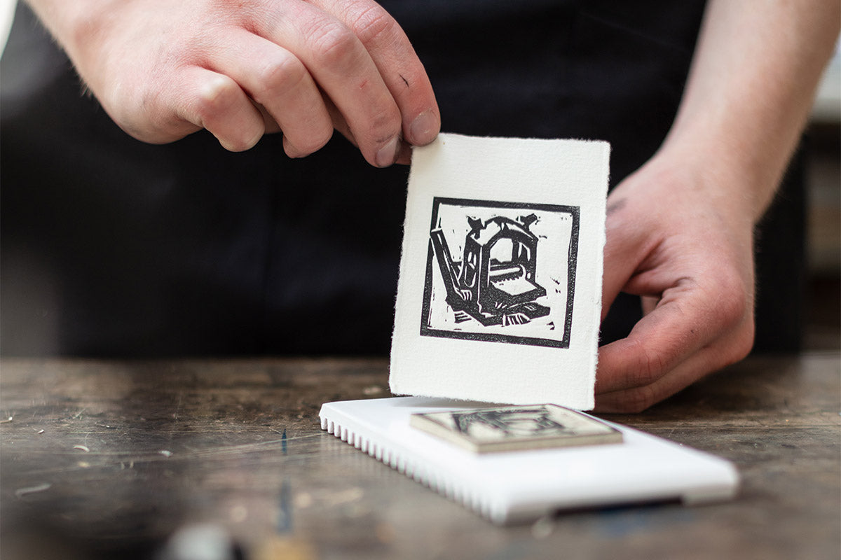 Lift Your Linocut Print!