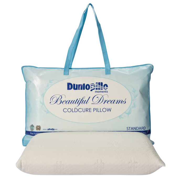 Dunlopillo Beautiful Dreams Coldcure Latex Pillow