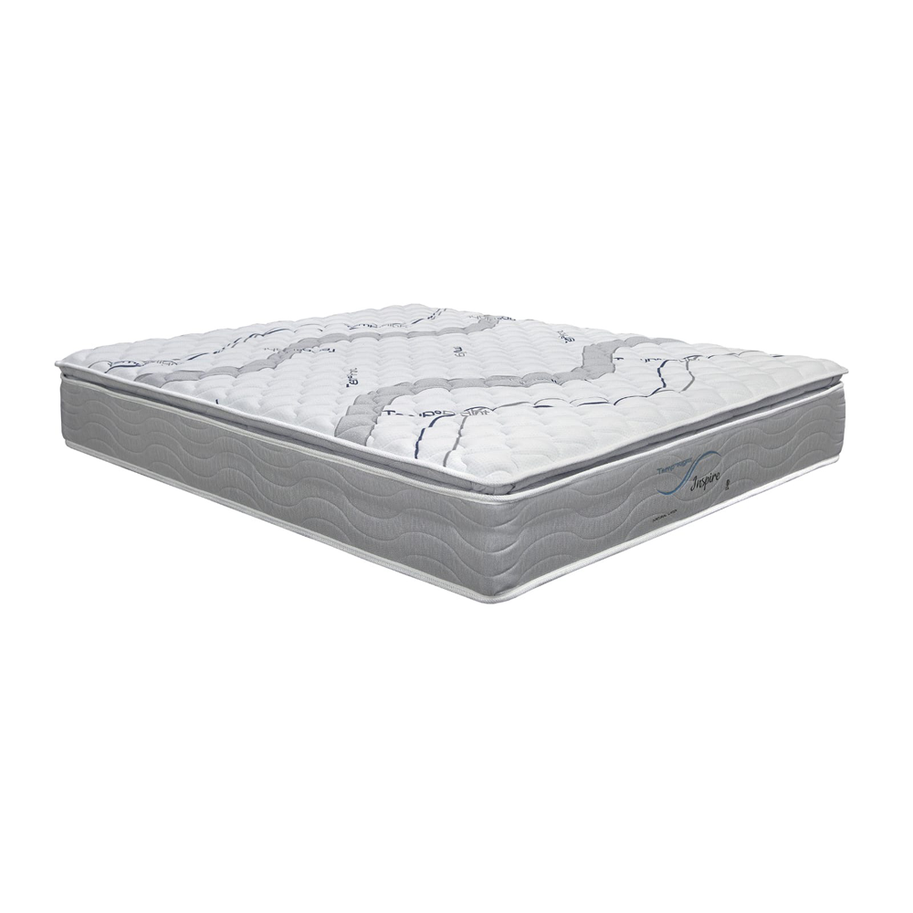 King Koil Thermic Inspire Latex Plush Pillow Top Pocketed Spring Mattress