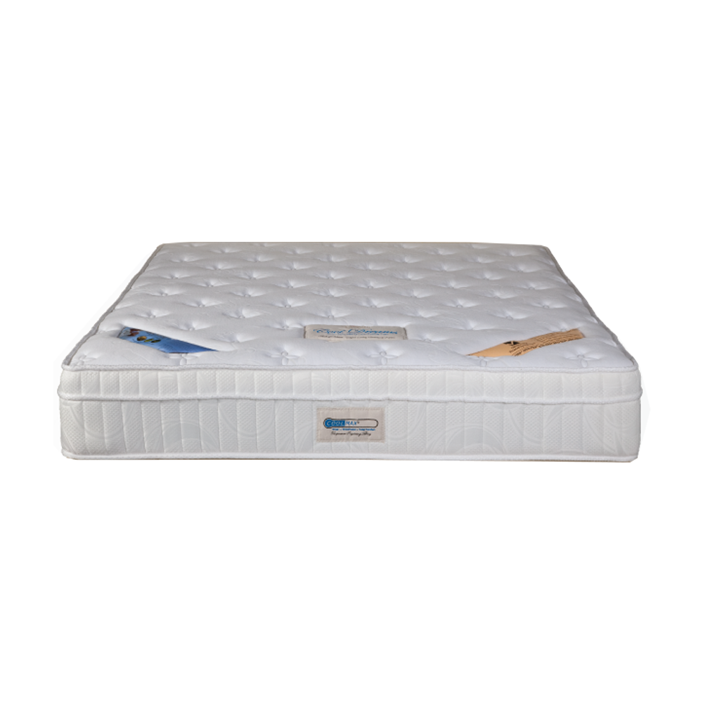 Princebed Cool Breeze Latax Euro Top Pocketed Spring Mattress