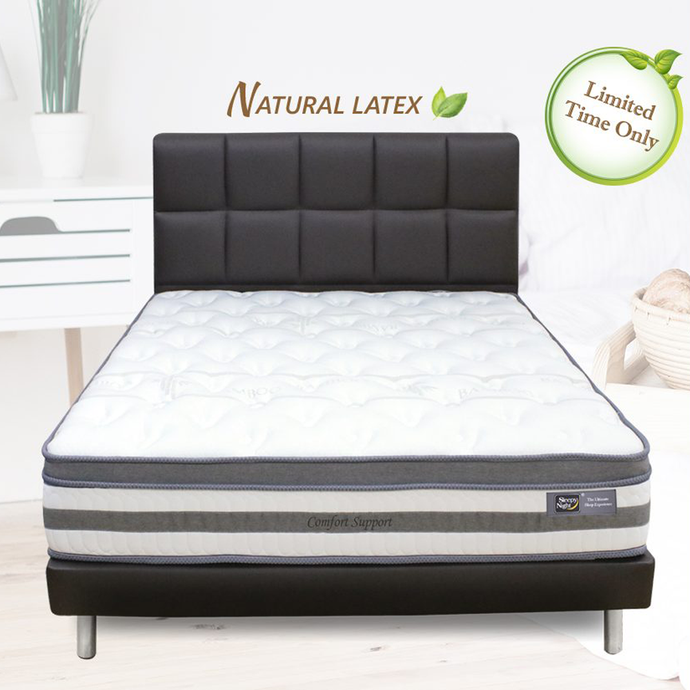 Sleepynight Comfort Support Latex Pocketed Spring Mattress