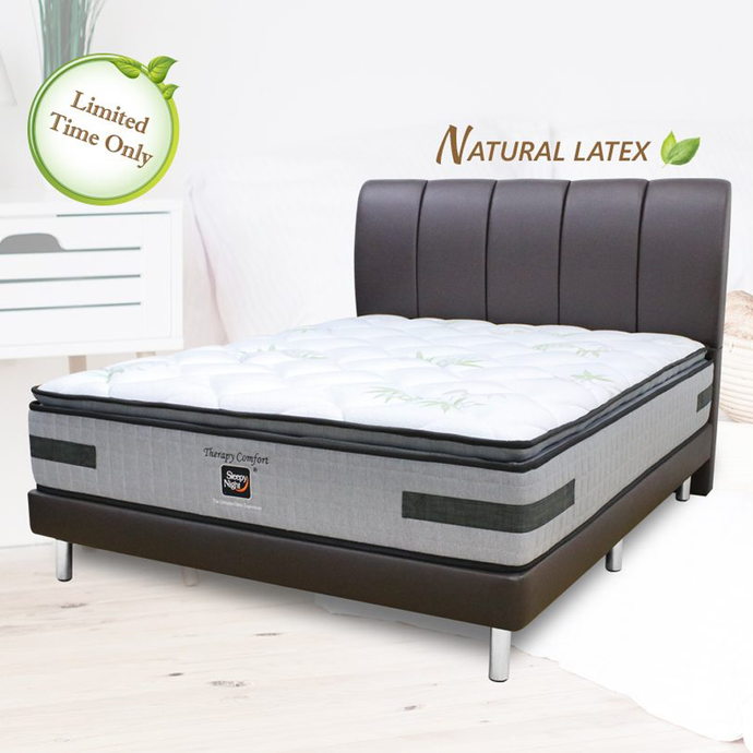 Sleepynight Therapy Comfort Latex Pocketed Spring Mattress (FREE BEDFRAME!)