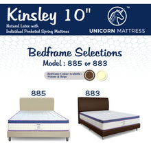 Load image into Gallery viewer, Unicorn Kinsley Latex Pocketed Spring Mattress