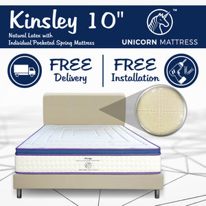 Unicorn Kinsley Latex Pocketed Spring Mattress