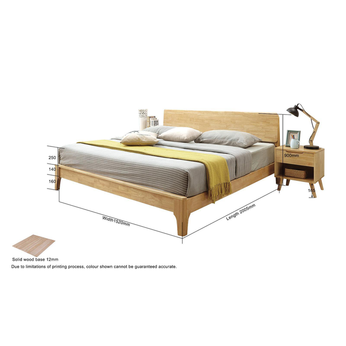 Flex Wooden Bedframe