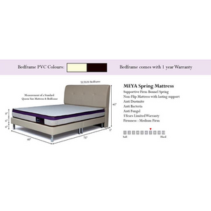 Bedz & Dreamz Meya Mattress + Bed_1