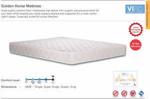 Viro Golden Horse Foam Mattress