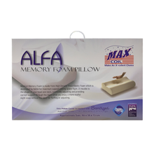 Load image into Gallery viewer, Maxcoil Alfa Memory Foam Pillow
