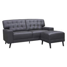 Load image into Gallery viewer, Nico Half Leather Sofa