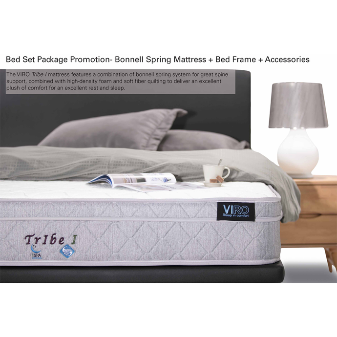 viro tribe 1 mattress bed set