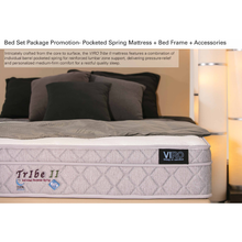Load image into Gallery viewer, viro tribe 2 mattress bed set