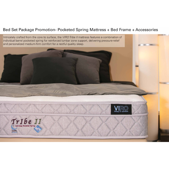 viro tribe 2 mattress bed set