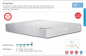 Viro X-Tra Firm Spring Mattress