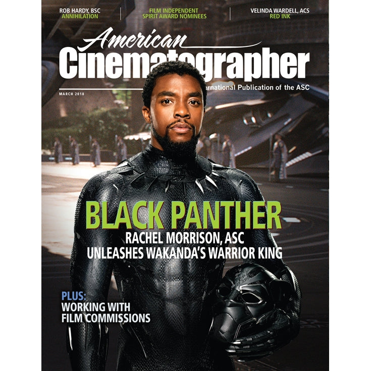 2018 / 03 — March issue of American Cinematographer