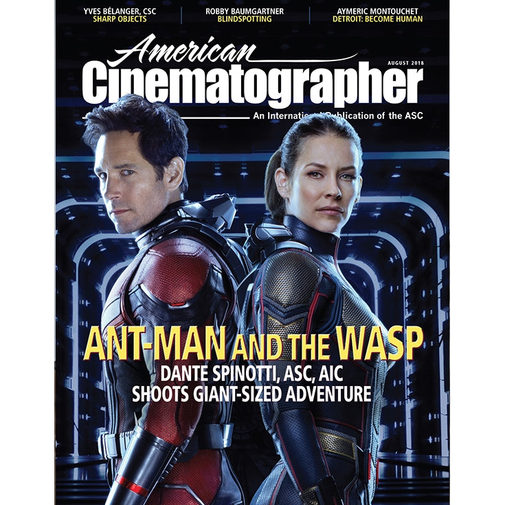 2018 / 08 — August issue of American Cinematographer
