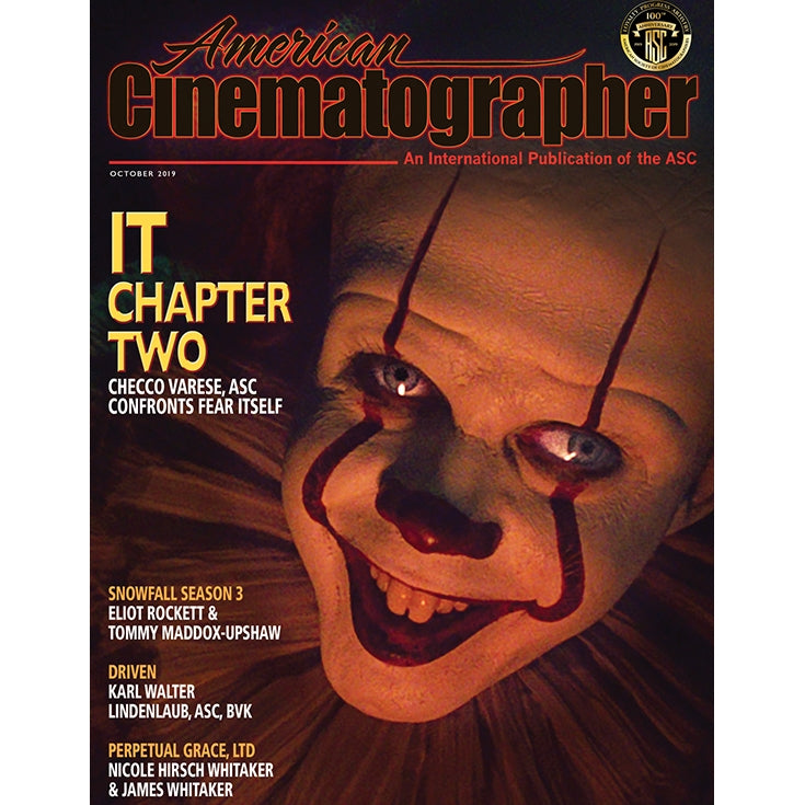 2019 / 10 — October Issue of American Cinematographer