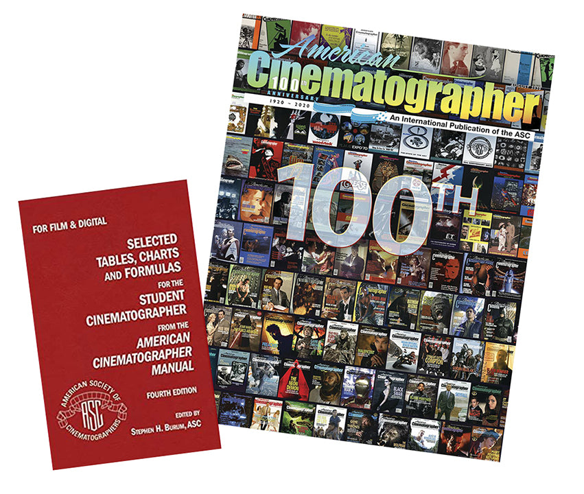 American Cinematographer Subscription 1 Year, plus Selected Tables 4Th Edition