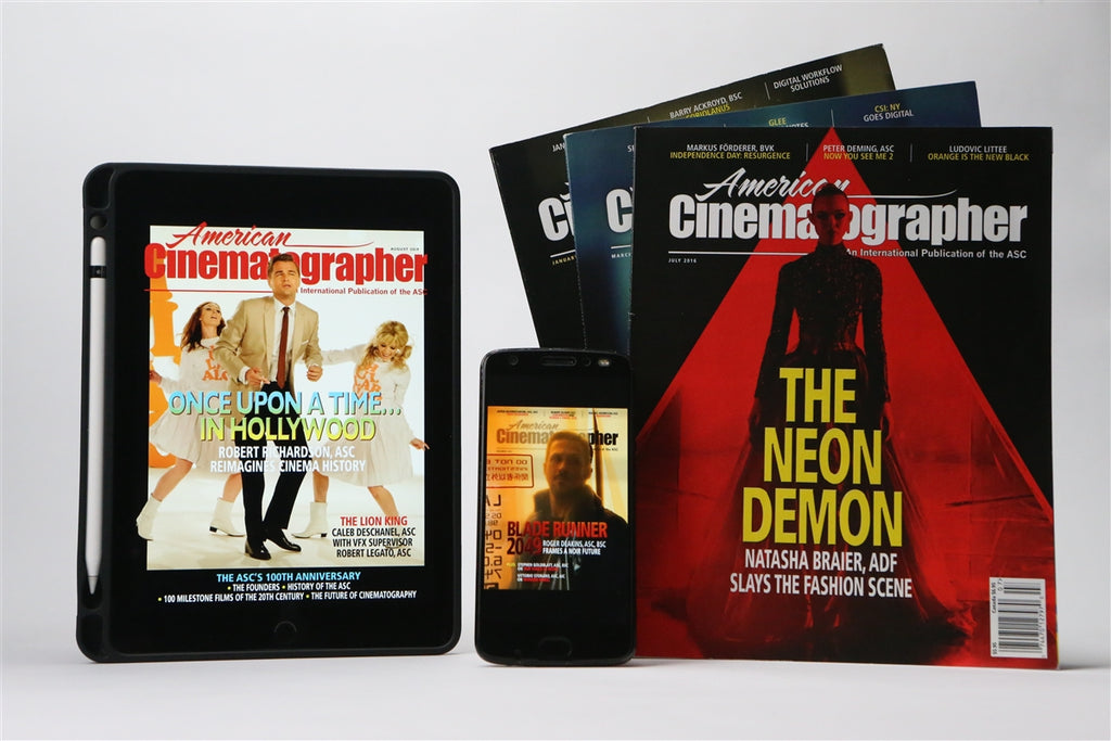 American Cinematographer Digital Subscription 2 Year