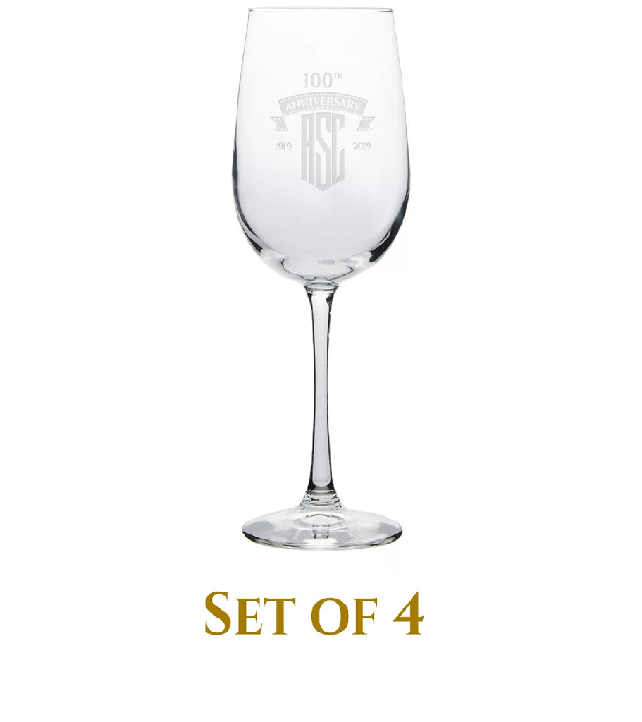 ASC 100th Wine Glasses