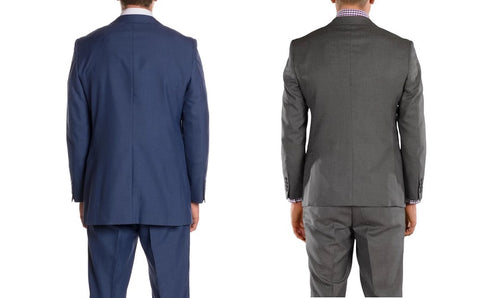 Length of slim fit suit jacket compared to regular fit