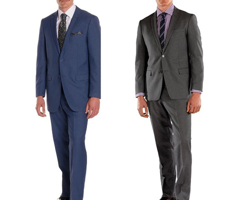 slim fit suit compared to regular fit suit