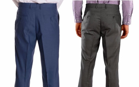 slim fit pants compared to regular fit pants