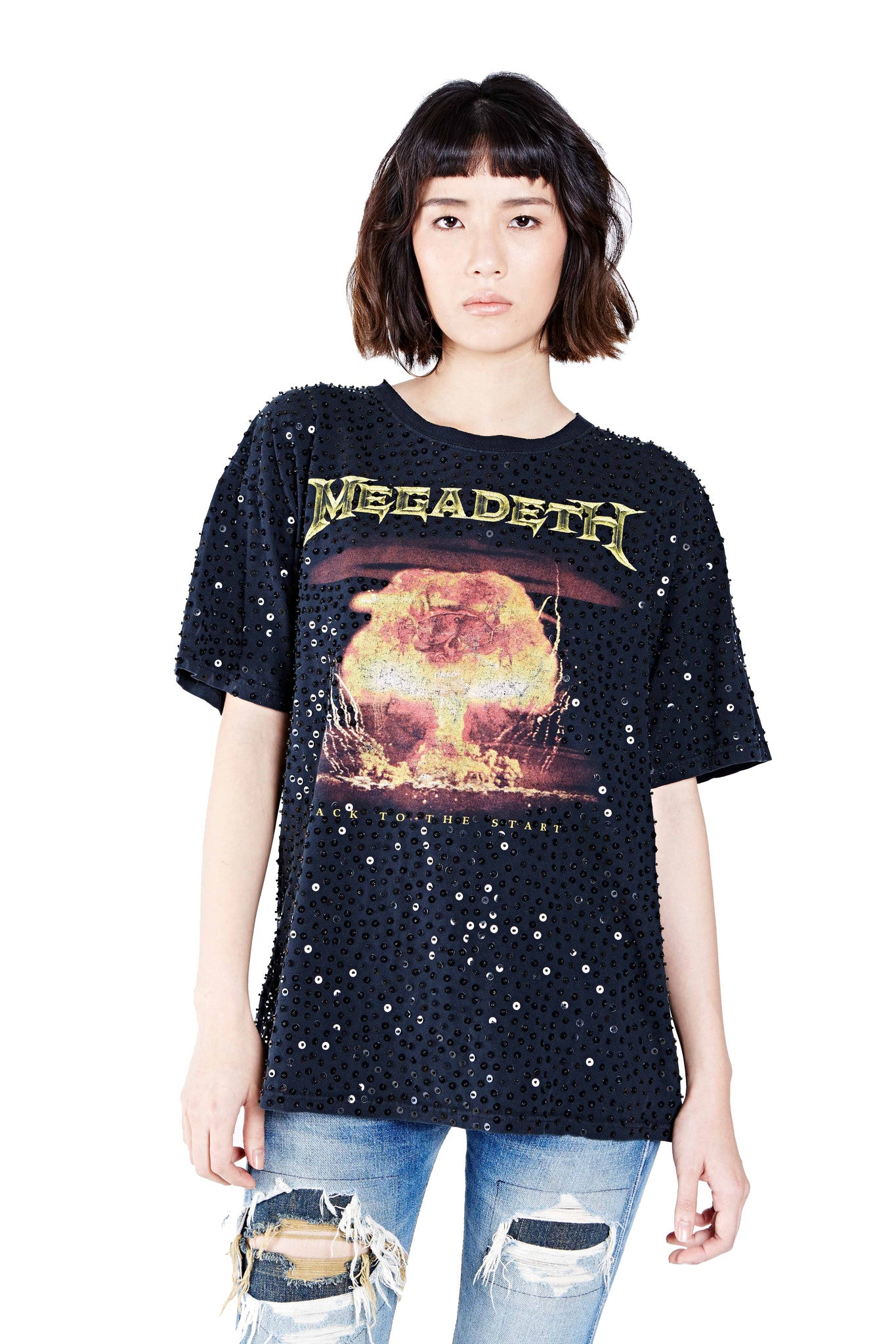 "Megadeth ""Back to the Start"" Thorn Tee - I LOVE DIY by Panida"
