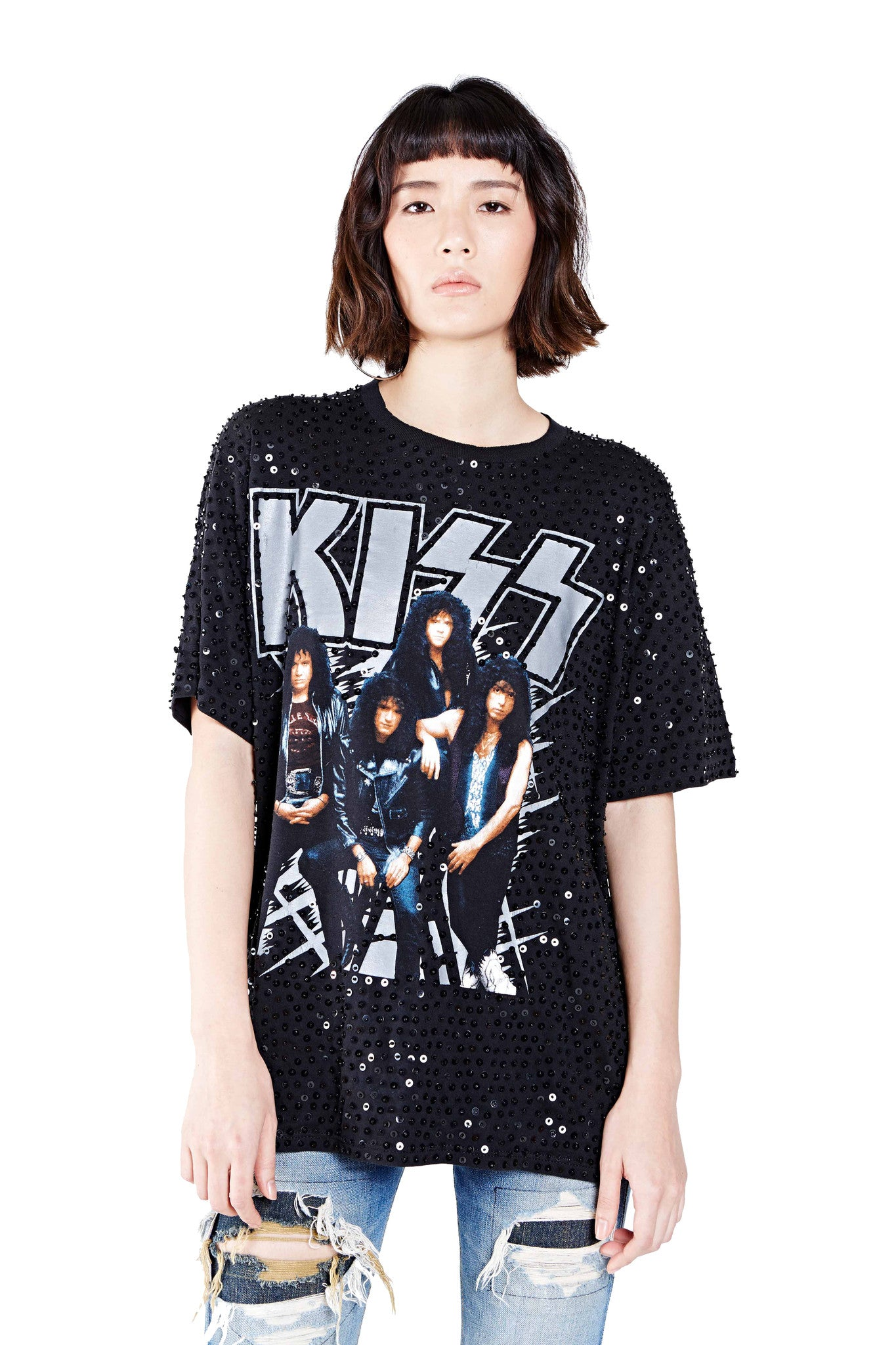 "KISS ""Hot in the Shade"" Thorn Tee"
