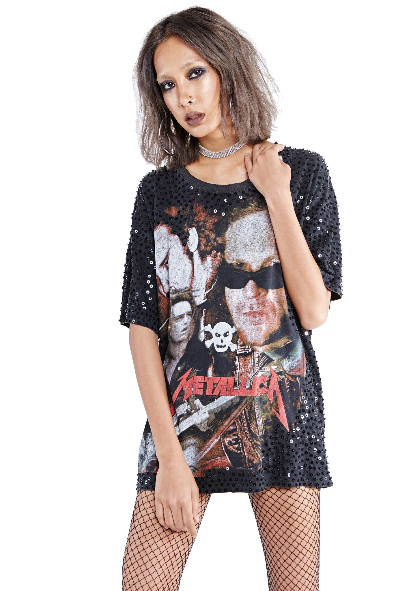 Metallica 'Crossbones' Thorn Tee